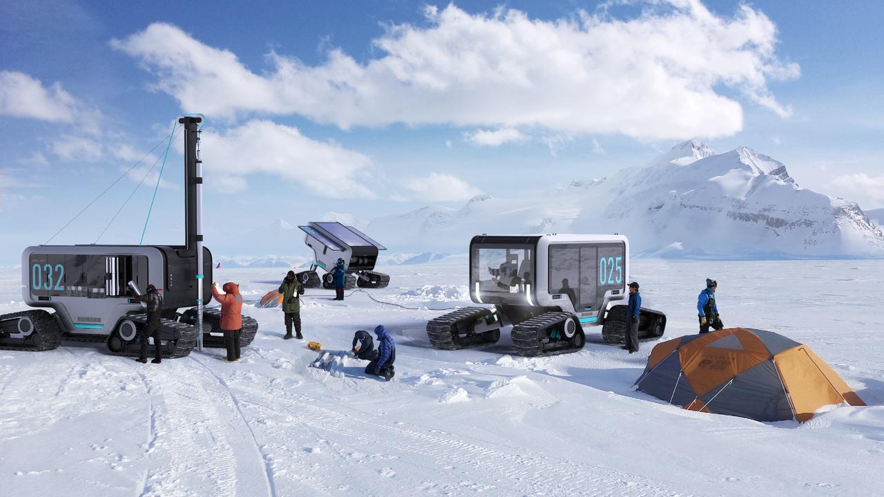 POLARIS - Zukunft der Mobilität in der Polarforschung